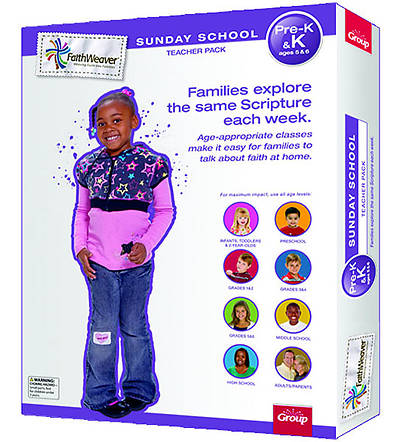 Picture of Faithweaver Pre-K & K Teacher Pack: Spring 2012
