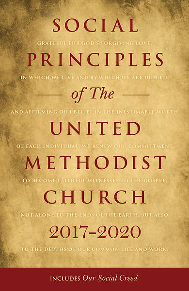 Picture of Social Principles of The United Methodist Church 2017-2020