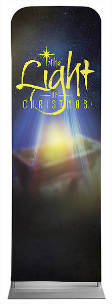 Picture of The Light of Christmas Sleeve Banner