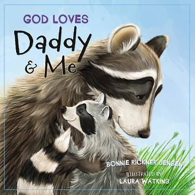 Picture of God Loves Daddy and Me