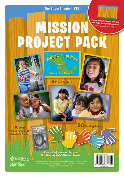 Standard Vacation Bible School 2013 Gods Backyard Bible Camp Mission Project Pack
