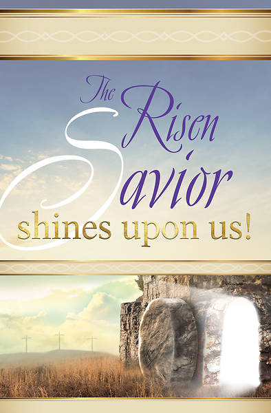 Risen Saviour Easter Sunrise Bulletin (Pkg of 50)