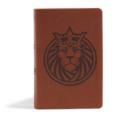 Picture of CSB Kids Bible, Lion Leathertouch