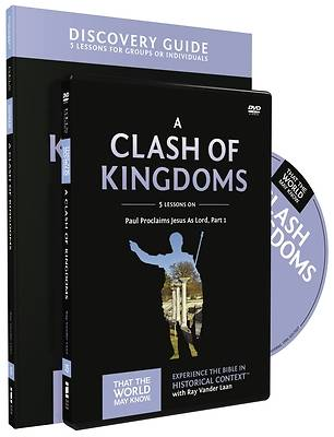 Picture of A Clash of Kingdoms Discovery Guide with DVD