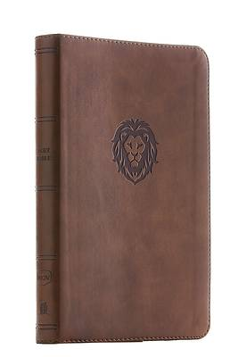 Picture of NKJV, Thinline Bible Youth Edition, Leathersoft, Brown, Red Letter Edition, Comfort Print