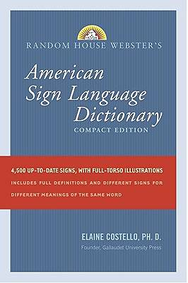 Random House Websters Compact American Sign Language Dictionary
