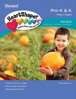 Standards HeartShaper Pre-K & K Student (Make-N-Share): Fall 2012