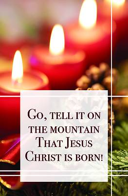 Picture of Go Tell It on the Mountain Bulletin (Pkg 100) Christmas
