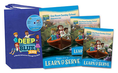 Deep Blue Kids Learn & Serve One Room Sunday School Kit Winter 2017-18