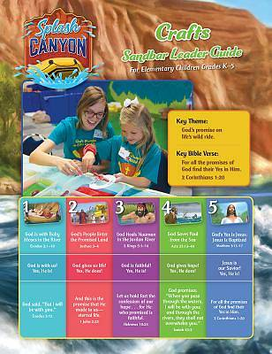 Vacation Bible School (VBS) 2018 Splash Canyon Craft Guide