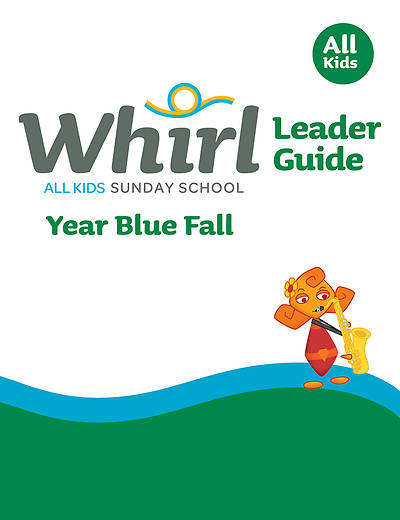 Picture of Whirl All Kids Leader Guide Year Blue Fall