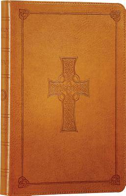 Picture of Thinline Bible-ESV-Celtic Cross