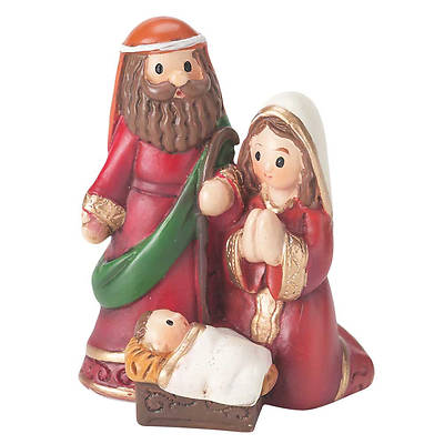 Picture of Holy Family Figurine - Resin 2""