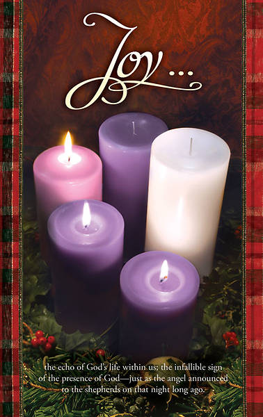 Advent Week 3/Joy Bulletin, Regular (Package of 100)