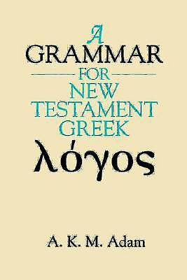 Picture of A Grammar for New Testament Greek