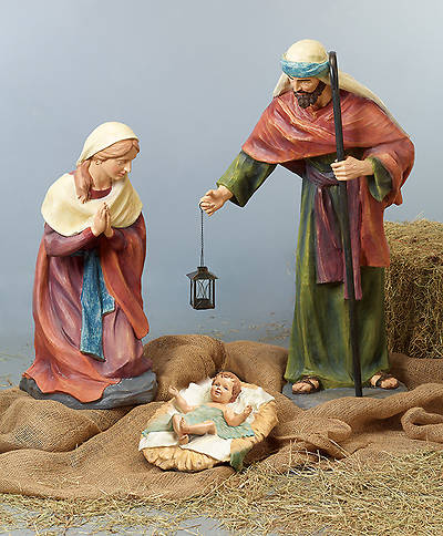 "XL Holy Family - 3pc set (tallest figure 40"")"