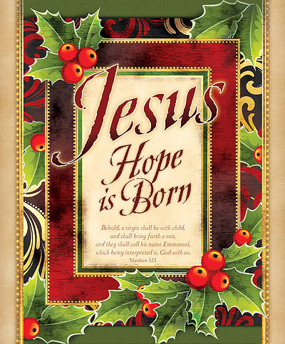 Jesus Hope is Born Christmas Bulletin Large (Package of 100)