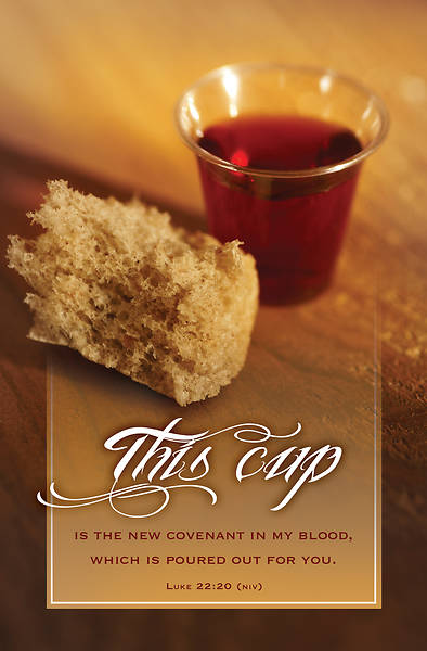 Picture of This Cup Communion Regular Size Bulletin