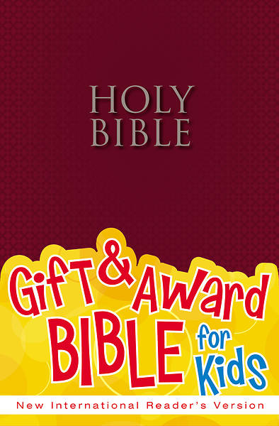 Gift & Award Bible for Kids NIRV (Burgundy paperback)