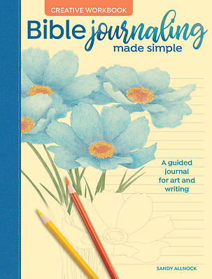 Picture of Bible Journaling Made Simple Creative Workbook