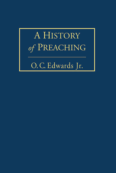 Picture of A History of Preaching Volume 1