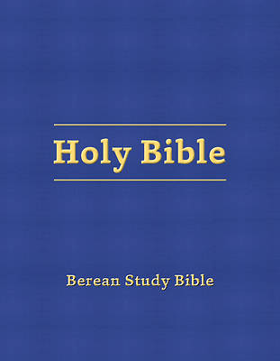 Picture of Berean Study Bible (Blue Hardcover)