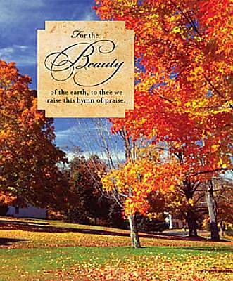Fall/For the Beauty Bulletin 2011, Large (Package of 50)
