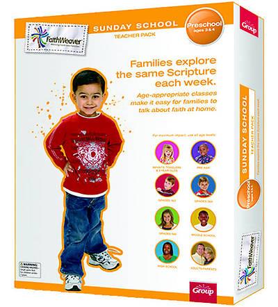 Picture of Faithweaver Preschool Teacher Pack: Spring 2012