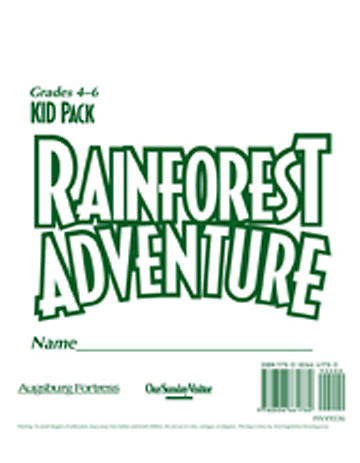 Augsburg Vacation Bible School 2008 Rainforest Adventure Kid Pack:  Grades 4-6 VBS