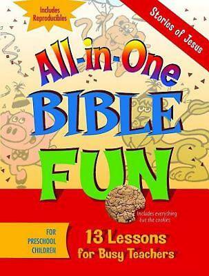 All-in-One Bible Fun for Preschool Children: Stories of Jesus