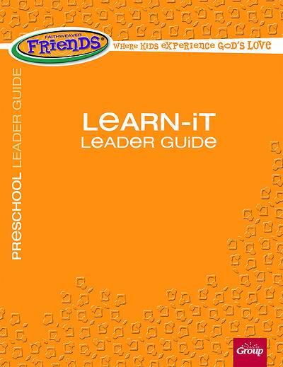 Picture of FaithWeaver Friends Preschool Learn-It Leader Guide Spring 2021