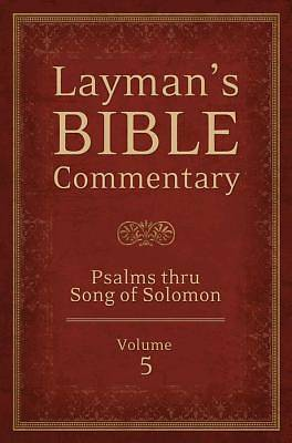 Laymans Bible Commentary Vol. 5