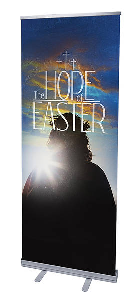 Hope of Easter RollUp Banner with Stand