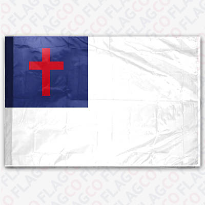 Christian 3X5 Nylon Outdoor Flag