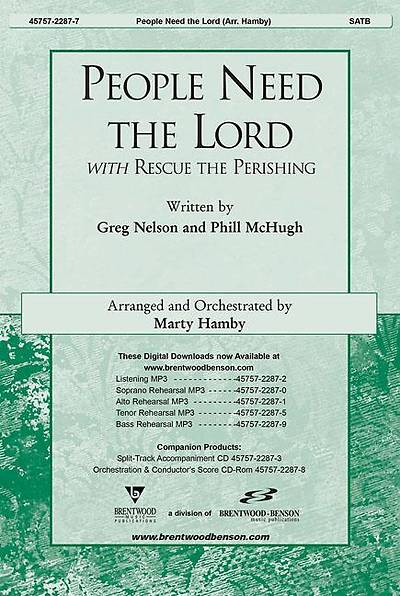 Picture of People Need the Lord Orchestration/Conductor's Score CD-ROM
