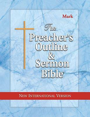 Picture of Preacher's Outline & Sermon Bible-NIV-Mark