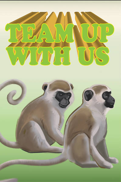Picture of Bible Story Basics Team Up With Us Postcard (Pkg of 25)