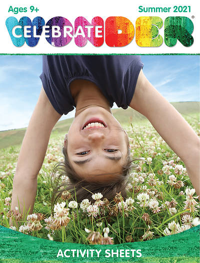 Picture of Celebrate Wonder Ages 9+ Digital Activity Sheets for 1-5 Students Summer 2021 Download