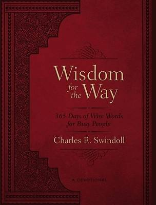 Picture of Wisdom for the Way, Large Text Leathersoft