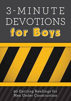 Picture of 3-Minute Devotions for Boys