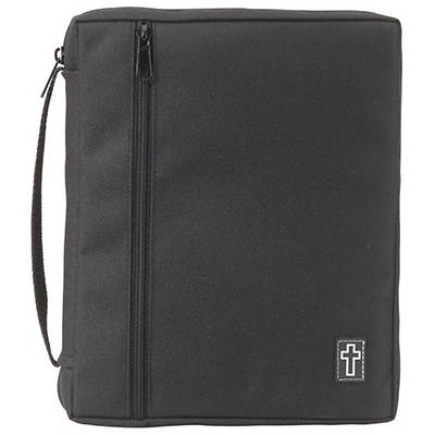 BIBLE COVER XXLARGE CANVAS BLACK