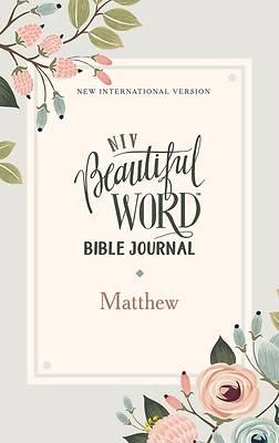 Picture of Niv, Beautiful Word Bible Journal, Matthew, Paperback, Comfort Print