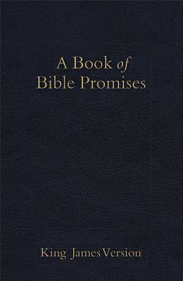 Picture of KJV Book of Bible Promises, Midnight Blue Imitation Leather