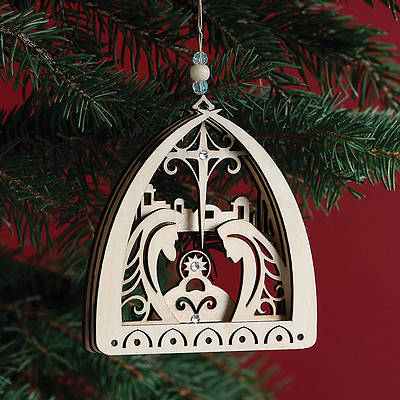 Flourish Holy Family Nativity Ornament