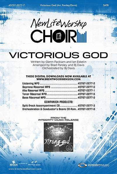Victorious God Orchestration/Conductors Score CD-ROM