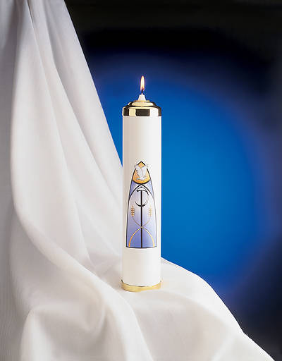 Christ Tube Candle