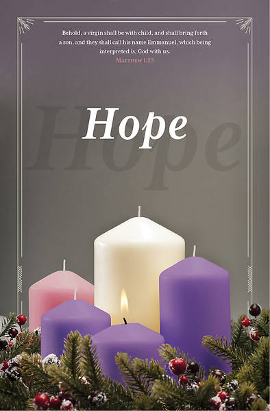 Picture of Hope Advent Regular Size Bulletin