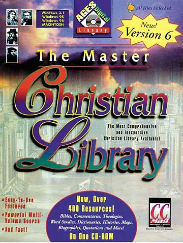 Master Christian Library Version 6.0 Software