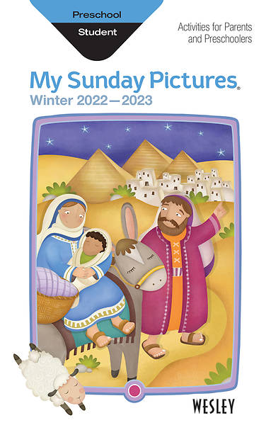Wesley Preschool Sunday Pictures: Winter