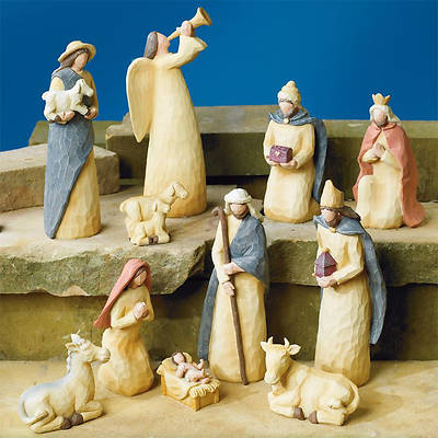11 Piece Nativity Set - Cokesbury 2014 Exclusive